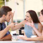 Beating Pride: friends arguing